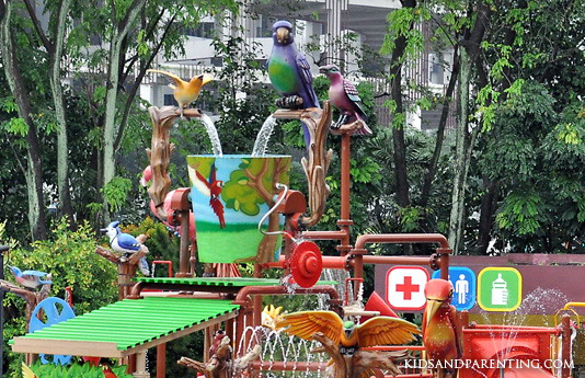 Jurong Bird Park Water Playground