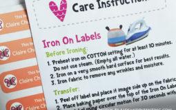Mua Kids Iron On Labels