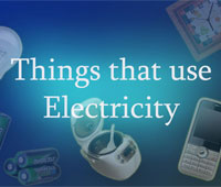 Free Flash Cards – Things that use Electricity | Kids and Parenting