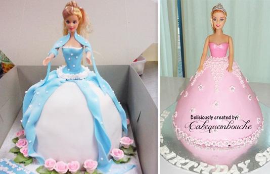 Pretty Princess Cakes