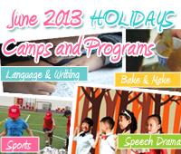 June holiday camp 2013