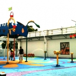 Water play at Northpoint